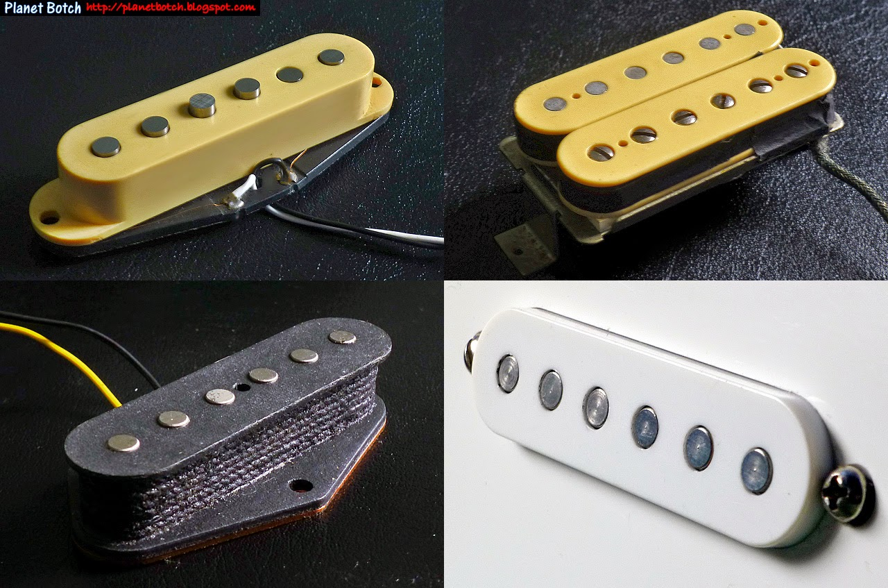 stock guitar pickups
