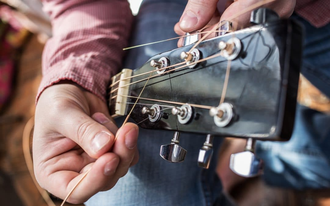 Replacing Guitar Strings Like a Pro