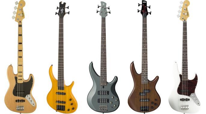 the best bass guitars