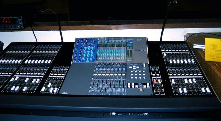 Audio equipment - Mixing panel. Digital music changed the way revenue was generated in the music industry