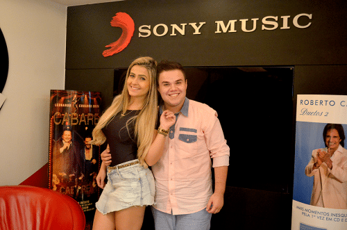 Music artists, Camila & Haniel. Sony Music is the largest major record label in the world