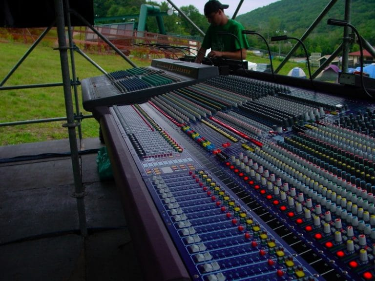 The equipment that an FOH engineer uses