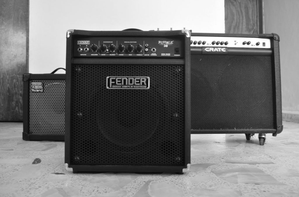 Black Fender amp