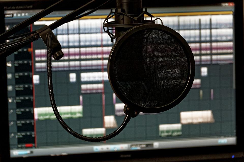 music mixer audio