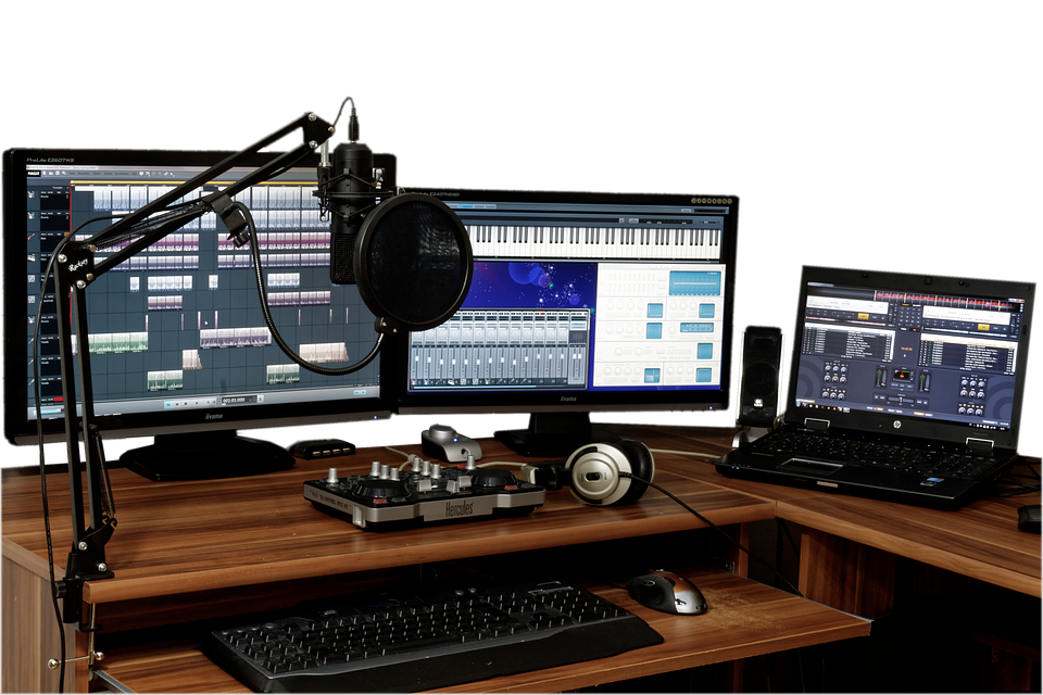 audio engineering software use for music mixer